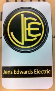 Jens Edwards Electric back