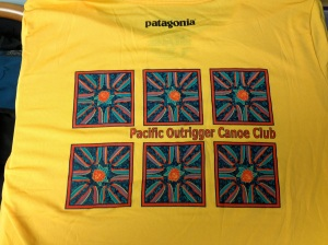Pacific outrigger race shirt